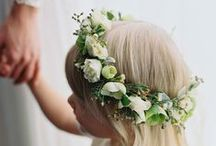 Fab Flower Crowns / Spring and summer flower crowns or for a theme wedding