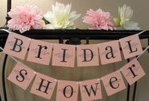 """Bridal / Wedding Shower Ideas / whether you want a """"traditional"""" or themed bridal shower here are some ideas for you."""
