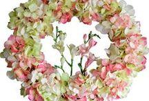 Wedding Wreaths / Wedding Wreaths | Wedding Hydrangea | Wedding Orchid | Wedding Lily | Wedding Magnolia