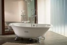 Our bathrooms / A selection of the bathroom products and suites offered and installed by Bamsey
