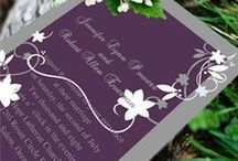 Wedding Invitations and stationary / Wedding invitations, save the date, thank you cards, ect.