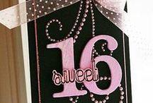 Sweet 16 Birthday Ideas / Birthday Ideas for her sweet 16 sixteen birthday party.