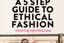 Ethical Fashion / Eco, sustainable & ethical fashion. Fairtrade & organic cotton.