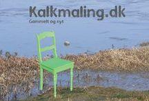 Kalkmaling.dk - chalkpaint / Kalkmaling.dk - Chalkpaint- Møbelrenovering - gammelt og nyt.
