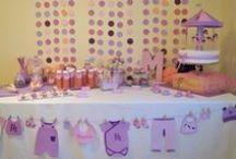 << ZAZU_Mesas Dulces >> / Decoración, diseño y repostería temática para mesas dulces  #babyshower #bautizo #infantil #niña #morado #rosa #Mesadulce #dulce #Tarta #decoración #cupcakes #fiesta #mesa #fondant