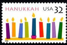 Happy Hanukkah / Festival of lights...food, gifts and decorations.