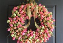 Tulip Wreaths