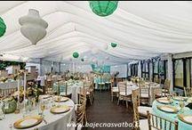 Mint & gold hummingbird wedding / Romantic wedding at Hluboka Castle, southern Bohemia