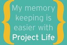 Project Life / Project Life layouts, products, and tips to make this wonderful product line work for you!!!