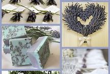 English Country Wedding / Lavender And Ivory Shades, Lace and Burlap Ribbon. Creative ideas and inspiration for the ultimate English Country Wedding.