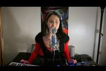 Singing Live / A series of songs, both originals and covers, as produced and performed by Electro Empress Alia Lorae.