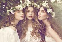 Fabulous Wedding Hairdos / Elegant and stylish hairdos with a natural feel.
