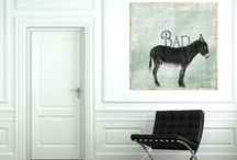Home Sweet Home / Simple, funny, artsy, elegant, and balanced art for the home