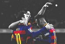 Messi Suarez Neymar / Barcelona !