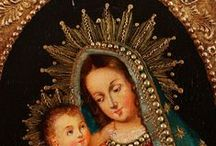 Classic religious art / Classic Catholic paintings and artworks.