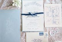 Stylish Wedding Invitations / Chic Wedding Invitations With A Twist