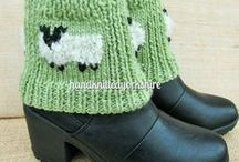 HKY Ladies Accessories / Hand knitted in Yorkshire made accessories to wear