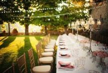 Tuscany Wedding Venues / Best Wedding Venues in Italy - A handpicked selection of the top wedding venues nestled among the castled villages and rolling plains of the Tuscan countryside.