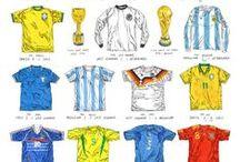 Camisa de futebol / As camisas mais interessantes do futebol mundial.