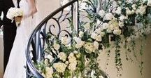 Staircase Wedding Flowers