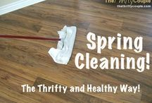 Cleaning / by Rebecca Dvorak