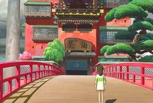 Studio Ghibli / Artwork & movies