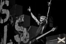roger waters • •• / Former bassist from Pink Floyd, Roger Waters, takes The Wall on tour during 2011.