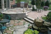 Outdoor Terraces, Patios & Decks / Through artistic use of natural or man made materials, American Beauty Landscaping can design a beautiful transitional space between your home and outdoor environment.