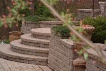 Walkways/Steps / American Beauty Landscaping offers many permanent additions to your home. Quality materials and sound construction can provide years of stable, attractive surfaces increasing the usable space of your property.