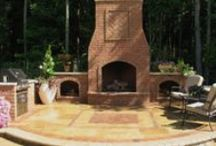 Fireplace & Firepits / Today's homeowners wants a backyard experience that makes friends, family and themselves feel like they are getting away when they're together. Having a fireplace and or firepit is a must have!