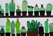 Recycle, plastics and other upcycle projects / projecten rondom hergebruik/ andere functie van oorspronkelijk materiaal.