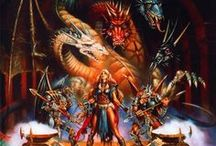Dragonlance / A tribute to the world of krynn, dragonlance and TSR