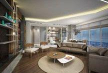 Residence Design / Interior Design by Gonye Tasarim