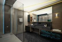 Bathroom Design / Interior Design by Gonye Tasarim