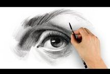 DRAW PEOPLE / EYES,NOSE,FACE,BODY ANATOMY
