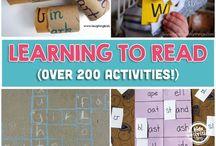 Letters, Phonics, and Learning to Read / by Rebecca Dvorak