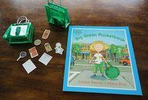 B4FIAR- Big Green Pocketbook / by Rebecca Dvorak