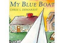 B4FIAR- My Blue Boat / by Rebecca Dvorak