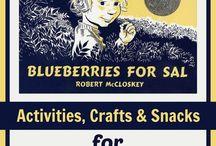 B4FIAR- Blueberries for Sal / by Rebecca Dvorak