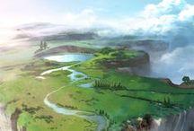 Environment paintings