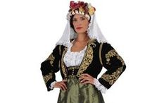Hellenic Traditional Costumes | Ionian Islands & Eptanisa / A collection of regional Greek folk costumes from the Ionian Islands.