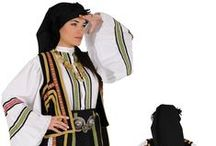 Hellenic Traditional Costumes | Sarakatsani / A collection of the Sarakatsani folk costumes. Historically Sarakatsani were centered on the Pindus mountains and other mountain ranges of continental Greece.