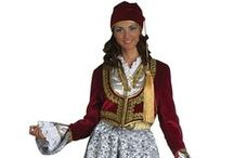 Hellenic Traditional Costumes | Peloponnese / A collection of regional Greek costumes from Peloponnese.