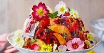 Flowers & Food (the best of both worlds) / A selection of our favourite flower and food combinations from around the world...