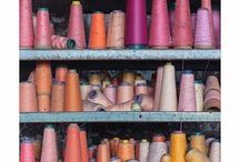 Sumptuous Supplies / Buttons, yarns, beads, threads, fabrics, paints, coloured chalks and more