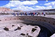Southwest Archaeology Tours / Member Tours- Experience the cultural and scenic diversity of the American Southwest.  Our trip explores Native American cultures, both past and present, in New Mexico, Arizona, and Colorado.  Expert archaeologists accompany our daily visits to some of the region's most famous archaeological sites.