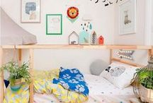 Small Spaces / Children's decor, nursery and playroom essentials. / by Saturday Morning Kids