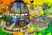 Deadhead Art Alliance (~);} / Gallery of gratefully inspired arts and creations by deadheads, lot rats, swilly mammas and nomads sharing their way of life through love and art! If you would like to be added as a contributor to this board, just follow then comment in the most recent post on the board that you'd like to be invited. (~);}