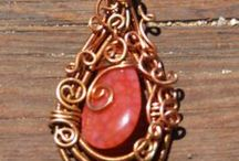 Bazaar Charlotte / Unique wire wrapped jewelry, sculptures, sun catchers, and yard art. I also offer crochet, knit, and felted items seasonally. https://www.facebook.com/BazarCharlotte