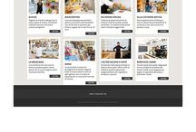 Travel and turistic web design / Web design layout for travel and turistic reality